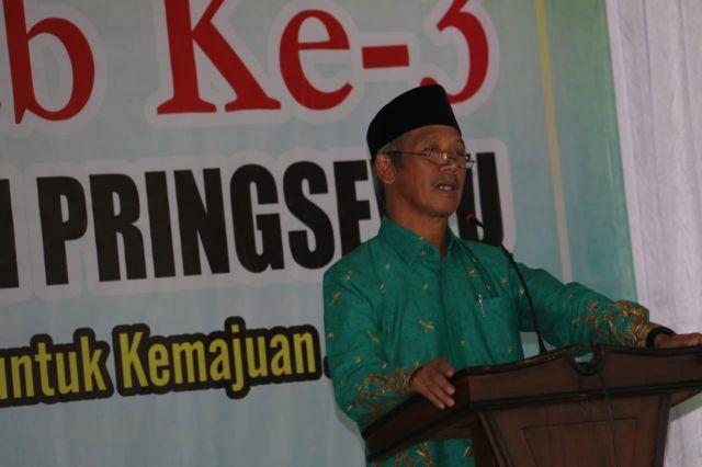 Dibuka Oleh Bupati, PCNU Pringsewu Gelar Konfercab ke-3