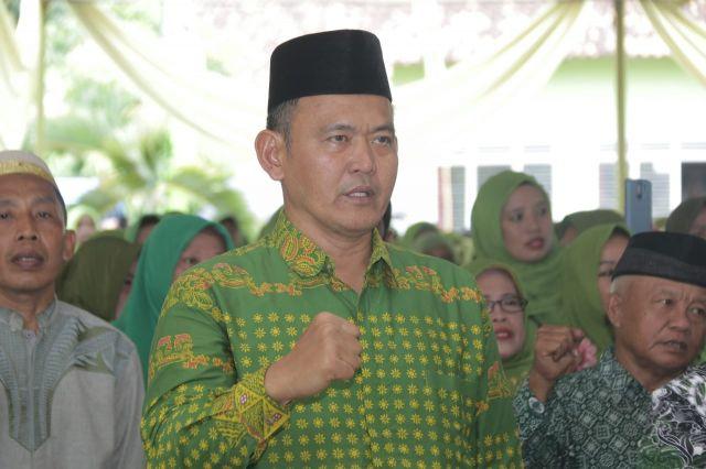 Pengurus Ranting dan Anak Ranting Muslimat NU Kecamatan Pringsewu Dikukuhkan
